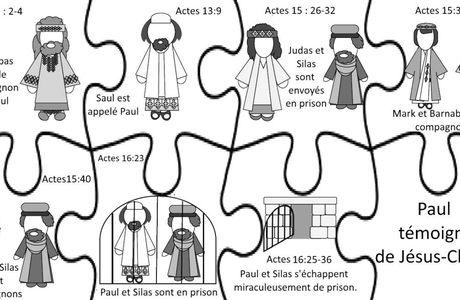 Primaire 7 - Leçon 43 - Paul témoigne de Jésus-Christ.