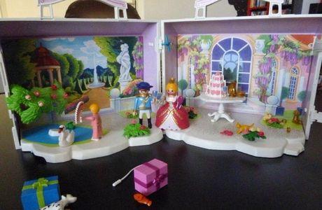PLAYMOBIL, Le pavillon royal pour toutes les petites princesses!!