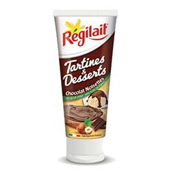 Régilait chocolat noisettes tartines et desserts 100% remboursé !