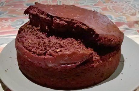 Gâteau très cacao au yaourt et à la carotte #2