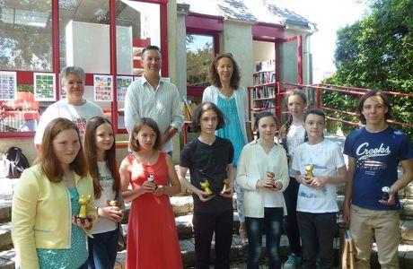 Remise Prix Concours BD scolaire d'Angoulême