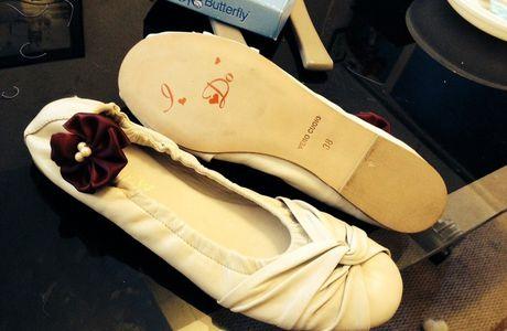 Le jour où j'ai voulu des chaussures de mariée personnalisées (partie 1)