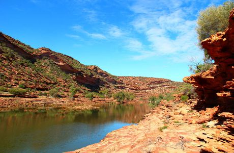 Les Pinnacles, le Pink Lake, Kalbarri National Park et Shark bay