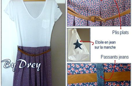 YES, I DID IT* !!! (*ma p'tite robe Liberty)