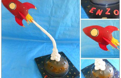 Gâteau fusée