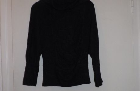 Pull hiver gris T 38