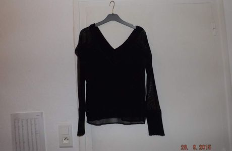 Pull manches transparente T2
