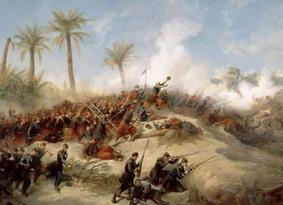 Séquestre français des cranes des résistants algériens.