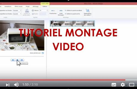 TUTORIEL MONTAGE VIDEO