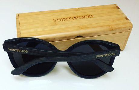 Shinywood - Lunettes bois et bambou.