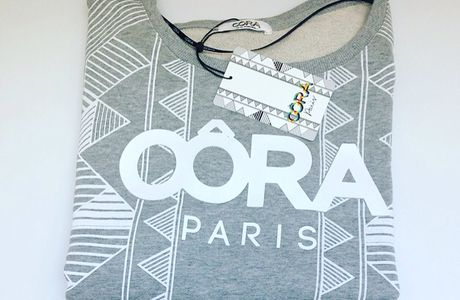 Top Sweat Graphique OÔRA By M.Pokora