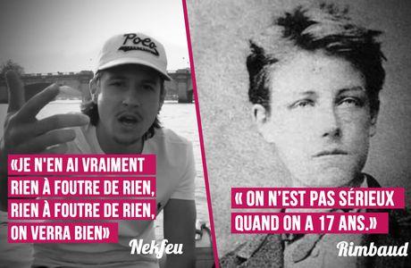 Nekfeu VS Rimbaud