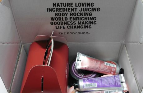Unboxing: Commande The Body Shop