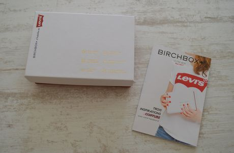 Birchbox s'habille en Levis