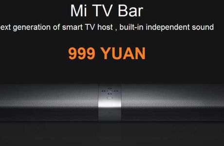 "Xiaomi Mi TV Bar, la barre de ""fer"", THE barre de son multimédia"