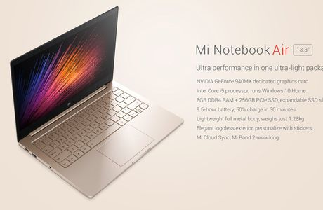 Xiaomi Notebook Air 13, enfin là mais....