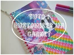 Customisation d'un carnet