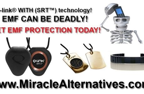 Q-Link ® EMF Defense Products! Making use of New (SRT ™) Technology!