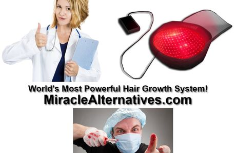 WARNING! Hair transplantation Can Be Dangerous! New Natural Solution Offered!