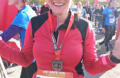 Semi-marathon du bois de Vincennes, 23 octobre 2016