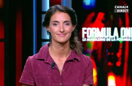 Margot Laffite Formula One Canal + le 04.09.2016