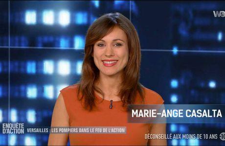 Marie-Ange Casalta Enquêtes d'Action W9 le 23.09.2016