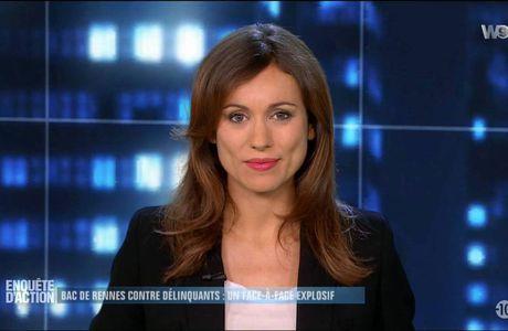 Marie-Ange Casalta  Enquêtes d'Action W9 le 14.10.2016