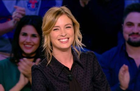 Isabelle Ithurburu Canal Rugby Club Canal+ le 13.11.2016