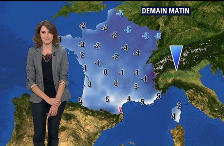 Fanny Agostini Météo BFM TV le 29.11.2016