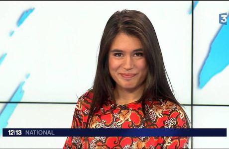 Emilie Tran Nguyen Le 12/13 France 3 le 06.12.2016