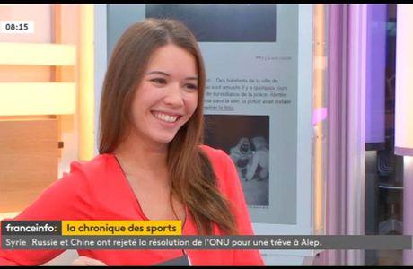 Emilie Broussouloux Le 6-9 Franeinfo: le 06.12.2016
