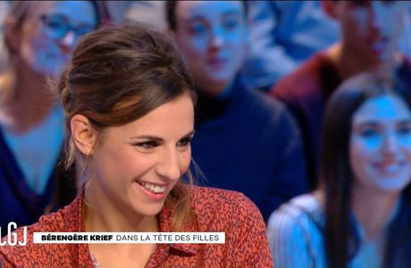 Alice Darfeuille Le Grand Journal Canal+ le 08.12.2016