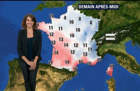 Fanny Agostini Météo BFM TV le 13.12.2016