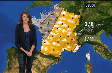Fanny Agostini Météo BFM TV le 19.12.2016