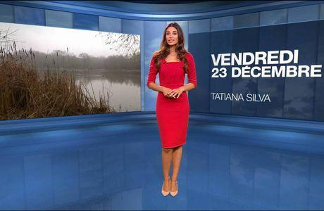 Tatiana Silva Météo M6 le 23.12.2016