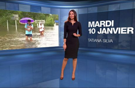 Tatiana Silva Météo M6 le 10.01.2017