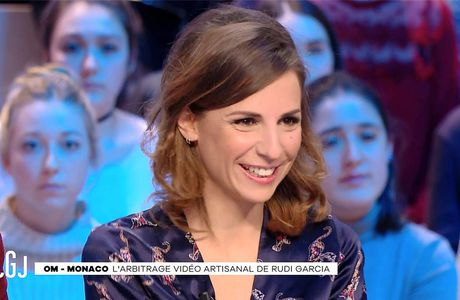 Alice Darfeuille Le Grand Journal Canal+ le 16.01.2017