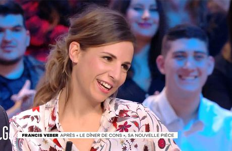 Alice Darfeuille Le Grand Journal Canal+ le 17.01.2017