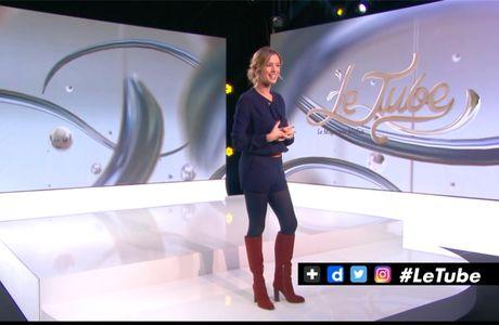 Isabelle Ithurburu Le Tube Canal+ le 28.01.2017