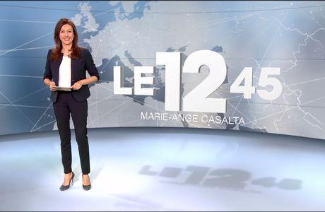 Marie-Ange Casalta Le 12:45 M6 le 05.02.2017