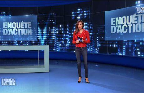 Marie-Ange Casalta Enquête d'Action W9 le 17.02.2017