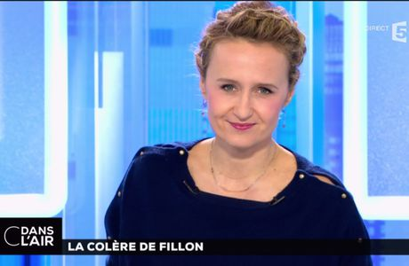 Caroline Roux C Dans l'Air France 5 le 27.02.2017