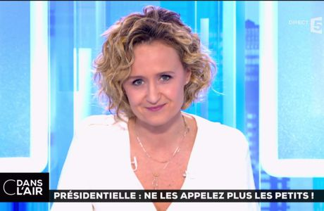 Caroline Roux C Dans l'Air France 5 le 09.03.2017