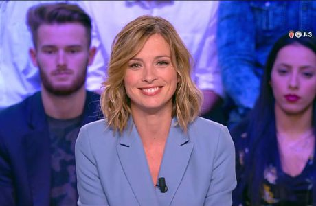 Isabelle Ithurburu Canal Rugby Club Canal+ le 12.03.2017