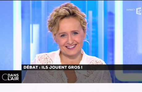 Caroline Roux C Dans l'Air France 5 le 20.03.2017