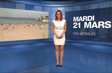 Cali Morales Météo M6 le 21.03.2017