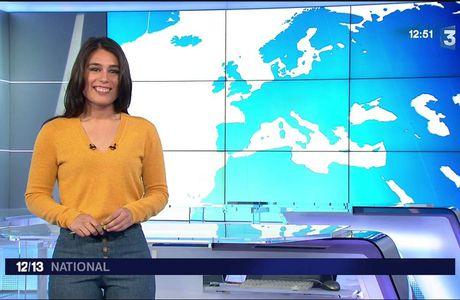 Emilie Tran Nguyen Le 12/13 France 3 le 11.04.2017