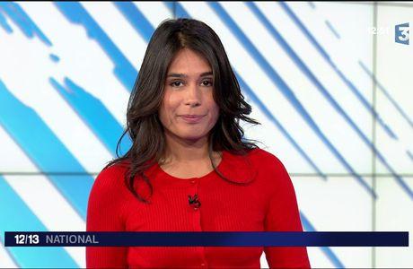 Emilie Tran Nguyen Le 12/13 France 3 le 25.04.2017