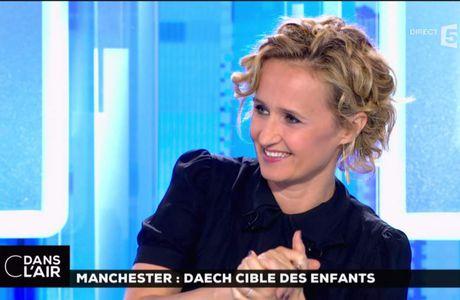 Caroline Roux C Dans l'Air France 5 le 23.05.2017