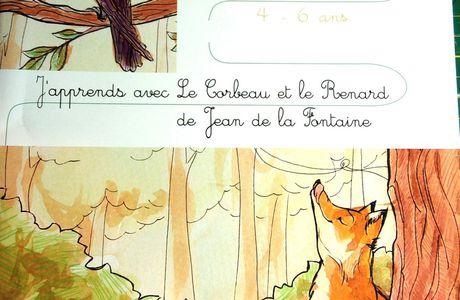 cours Troubadour - le corbeau et le renard